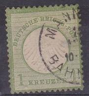 Allemagne, Empire - Yvert N° 7 Oblitere - Allemagne