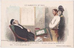 Les Humoristes De Jadis. H. DAUMIER. Vous Aviez Faim - Humour