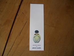 Carte Cardin Monte Carlo* - Cartes Parfumées