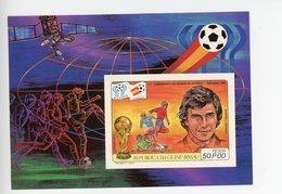 Guinée Bissau 1981-Coupe Du Monde De Foot Argentine-ESPACE-MI B180***MNH-NON Dentelé - Coupe Du Monde