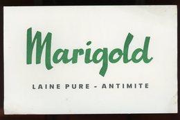 BUVARD:  LAINE MARIGOLD - FORMAT  13X21 Cm - Blotters