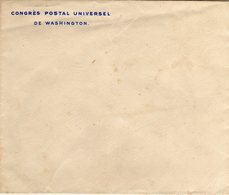 United States 1897 UPU Universal Postal Congress Washington Envelope Official - UPU (Unione Postale Universale)