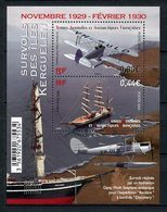 TAAF 2016  N° F781 ** ( 781/782 ) Neuf MNH Superbe Bateaux Voilier  RSS Discovery Sailboat Avions Haviland Transports - Neufs