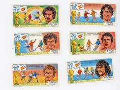 ARGENTINE 78-Football-GUINEE BISSAU-1981-YT 157/60+PA-VALEUR 11 - Guinée-Bissau