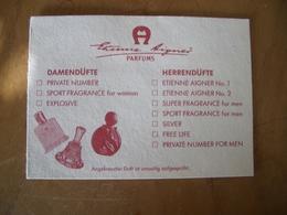 Carte Aigner Choix* - Cartes Parfumées