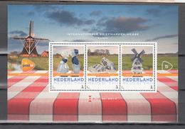 Nederland Netherlands 2014,3V In Block, Holland Promotion,souvenir,briefmarken Messe Essen,MNH/Postfrisch(L3453) - Vakantie & Toerisme