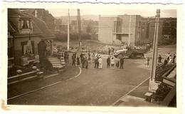 BELGIQUE - (Liège )  Peville - Arrivée Des Soldats Americains 1944  ( Photo: Format 12X 7.5 ) - Lieux