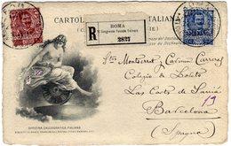 Italia 1906 UPU Universal Postal Congress Rome Postal Stationery - UPU (Unione Postale Universale)