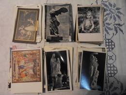 LOT 84 CPA-CPSM-CPM THEME OEUVRE D ART-SCULPTURES-PEINTURES - Cartes Postales