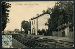 Cordesse - Igornay  -  La Gare - B. F. Châlon - Voir 2 Scans - France