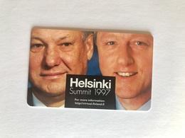 Finland - HPY - Helsinki Summit 1997 - Finland