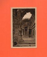 CP1950 * 1 CARTE CPA NIMES TEMPLE DIANE GARD AVEC TP N°679/651/671 - Nîmes
