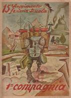 MAK P 100 - 15° REGGIMENTO FANTERIA SALERNO - SPOLETO 1940 - Guerre 1939-45