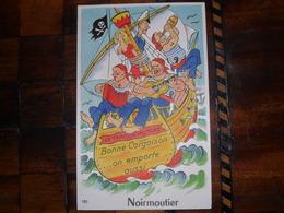 Noirmoutier,carte A Système,10 Vues - Noirmoutier
