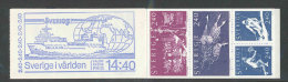 SUEDE 1981 - CARNET  YT C1144 - Facit H333 - Neuf ** MNH - La Suède Dans Le Monde - Carnets