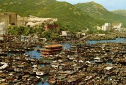 C 2491 - Chine    Hong Kong      Le Marché Au Poisson        Fishing Center Of  Hong Kong - Chine