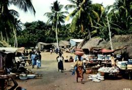 C 2493 - Afrique    Cote D'Ivoire     Marché Africain - Côte-d'Ivoire