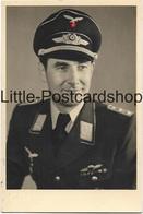 Portraitfoto Hauptmann Luftwaffe Frontflugspange Abzeichen Foto 1944 - Guerra 1939-45