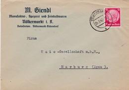 Brief Aus Völkermarkt Österreich  1942 - Deutschland