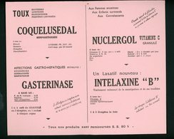 BUVARD:  LABO LRT - FORMAT  12,5X21 X 2 VOLETS Cm - Chemist's