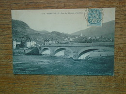 Albertville , Pont Des Adoubes Et Conflans - Albertville