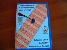 Catalogue Officiel De Timbres Préoblitérés De Belgique. - Oblitérations