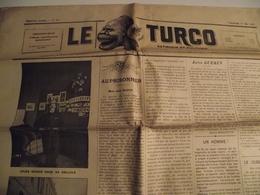 Le  TURCO, Journal , Satirique Et Politique, 17 Mai 1901, N° 21 - Journaux - Quotidiens