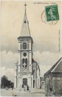 D45 - LES CHOUX - L'EGLISE - Carte Animée - France