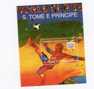 Sao Tome-1994-USA-coupe Du Monde De Football-MI B304-Valeur 11 Euro***MNH - Coupe Du Monde