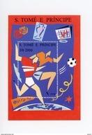 Sao Tome-1995-Coupe D'Europe De Football-MI B323-valeur 10 Euro***MNH - Championnat D'Europe (UEFA)