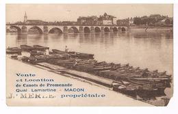 Mâcon - Location De Canot Merle - Macon