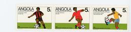 Angola 1989-Football Championnat National-YT 753/55***MNH - Sonstige