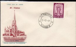 INDIA, 1964 St THOMAS FDC - Covers & Documents