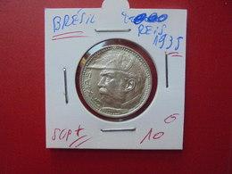 BRESIL 2000 REIS 1935 ARGENT QUALITE SUPERBE+++ - Brésil