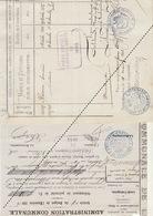 1885 Leval Trahegnies - Binche Liste D'indigent - Mandat Colonie Agricole Blairon - Hoogstraeten - Documents Historiques