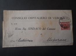 REGNO ITALIA BIGLIETTI CON OVALE DI FRANCHIGIA ARLUNO REGIE POSTE 1925 - 1900-44 Vittorio Emanuele III