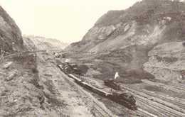 PANAMA THE GREAT CULEBRA SLIDE RAILWAY  TRAINS  RV - Panama