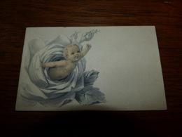 Souvenir Baptême ANge Sort D'un Chou  M Belyn Gosselies 1948 - Birth & Baptism