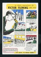 BUVARD:  LE DESTIN EXEMPLAIRE DE VICTOR FLEMING (ANTI-ALCOOLISME) - FORMAT 14X20 Cm - Stationeries (flat Articles)