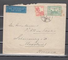 Nederlands Indie 1925,letter Via Singapore To Maastricht Holland (C397) - Nederlands-Indië