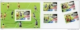 Cap Vert-Cabo Verde-1994- Coupe Du Monde De Football-USA-648/51+B23***MNH - Coupe Du Monde