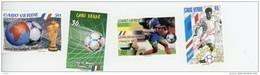 Cap Vert-Cabo Verde-1998-Coupe Du Monde De Foot-France-711/14***MNH- - 1998 – Frankreich