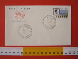 A.09 ITALIA ANNULLO - 1992 BORGOMANERO NOVARA SPORT CICLISMO CORRIDORE PASQUALE FORNARA - Ciclismo