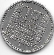 *france 10 Francs 1946 B Sl Km 908.2   Xf - France