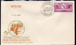 INDIA, 1965 ITU FDC - India