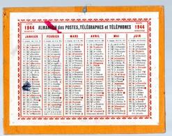 Almanach De Postes 1944 (petit Format)  (PPP17172) - Calendriers