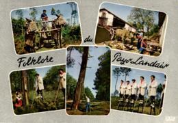 C 4220 - Folklore Du Pays Landais (40) - Personnages