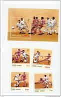 Cap Vert-Cabo Verde-Coupe Du Monde De Foot 1990-Italie-570/3+B14***MNH - Coupe Du Monde