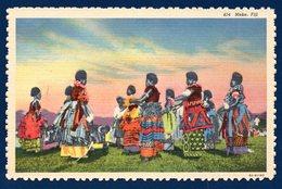 Océanie. îles Fidji. Danse Et Chant Traditionnels Meke - Fidji