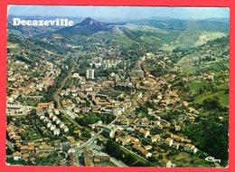 CPSM-(12.Aveyron)-Decazeville -Vue Aérienne Générale. - Decazeville